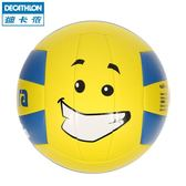 迪卡儂 沙灘排球 標準2號5號 學生考試訓練專用軟式排球KIPSTA