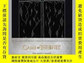 二手書博民逛書店Game罕見of Thrones: The Night s Watch Hardcover Ruled Journ