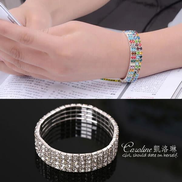 《Caroline》★【吻合】浪漫風格,優雅性感.水晶時尚手鍊68731