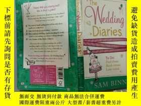 二手書博民逛書店The罕見Wedding Diaries:婚禮日記Y200392