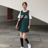 球衣女背心女夏外穿球衣籃球服寬鬆bf風學生百搭中長款無袖t恤上衣 衣間迷你屋