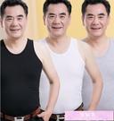 男背心中老年人男士背心純棉老頭衫夏季寬鬆大碼爸爸吸汗衫跨欄運動上 裝飾界