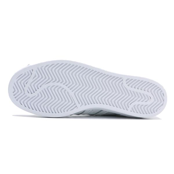 ADIDAS SUPERSTAR 全白 紅色 愛心 情人節款 貝殼頭 休閒鞋 女 (布魯克林) FX1203