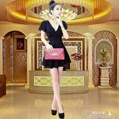 夜店低胸性感女裝新款桑拿技師連身裙顯瘦夜場KTV小姐工作服  提拉米蘇