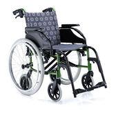 『COMFORT』康而富時尚輔具 CT-6000  首創六輪設計鋁合金輪椅/機能提花布/自推照護兩用