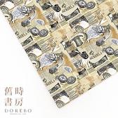 多力波風格圖紙/舊時書房(兩大張入)【Dorebo Life Style】