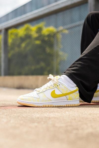 IMPACT Nike Dunk Low Yellow Strike 白黃 檸檬 低筒 女鞋 DM9467-700