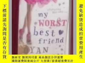 二手書博民逛書店英文原版罕見My Worst Best Friend by Dy