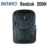 BENRO 百諾 Reebok 200N 銳步系列 雙肩攝影背包 黑 可放14吋筆電 (勝興公司貨)