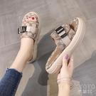 拖鞋女外穿時尚2021夏季百搭街拍懶人一腳蹬涼拖 快速出貨