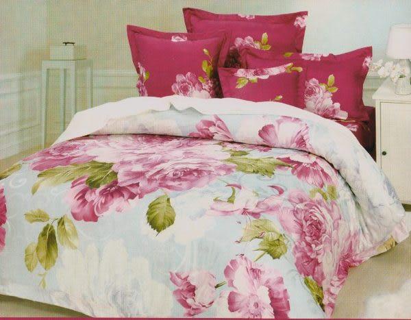 雙人加大6*6.2尺-台灣製造精品 POLO-803  精梳棉五件式床罩組