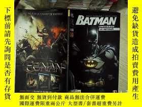 二手書博民逛書店BATMAN罕見UNIVERSE 蝙蝠俠宇宙Y203004