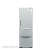 日立394公升三門(與RG41BL同款)冰箱GSV琉璃灰RG41BLGSV