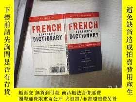 二手書博民逛書店FRENCH罕見LEARNER S DICTIONARY 法語學習詞典 (24)'Y180897 不祥 不祥