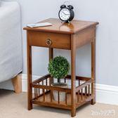 床頭櫃 床頭柜臥室簡約現代小柜子迷你收納柜儲物柜簡易床邊桌LB3472【Rose中大尺碼】
