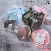 禮物盒口紅生日禮品盒精美簡約創意伴手禮香水包裝盒【古怪舍】
