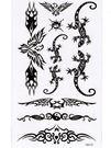 薇嘉雅       蜥蜴 紋身貼紙 HM430