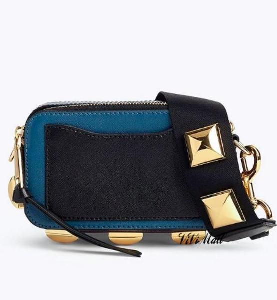 『Marc Jacobs旗艦店』Marc Jacobs|MJ 方型鉚釘相機包 斜背包 側背包 肩背包