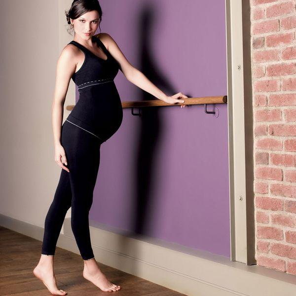 孕婦背心 法國 Cache Coeur - ILLUSION 款 彈性挖被孕婦背心 典雅黑 CR1210