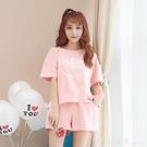 家居服 夏季短袖睡衣女士純棉韓版公主風薄款卡通甜美夏天兩件套裝 618購物節