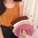 吊帶 背心 樹葉背心女外穿潮2020夏季新款韓版網紅百搭寬鬆打底無袖T恤上衣