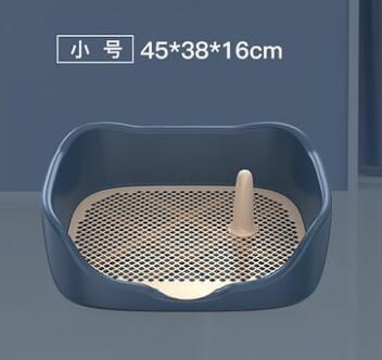 寵物廁所 柯基中型小型犬自動寵物用品尿盆便盆沖水排狗砂盆防踩屎TW【快速出貨八折下殺】