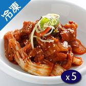 捷康大廚在家韓風泡菜燒肉170G/盒x5【愛買冷凍】