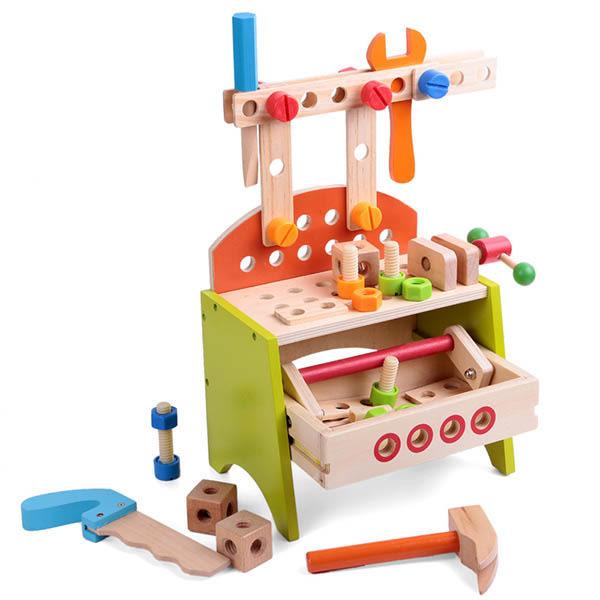 Amuzinc酷比樂 木頭玩具 木質 小號工具台 13023