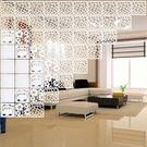 屏風隔斷時尚客廳臥室玄關懸掛式折疊鏤空花...