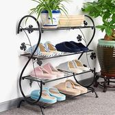 鞋架簡易家用多層簡約現代經濟型鐵藝宿舍拖鞋架子收納小鞋架鞋櫃YXS    韓小姐