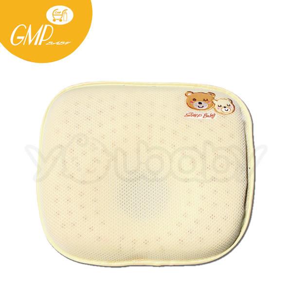 西川 GMP BABY 3D立體雙頭熊乳膠枕/嬰兒枕