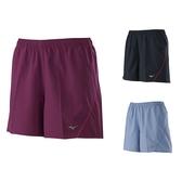MIZUNO 女路跑短褲 抗紫外線 彈性 拉鍊口袋設計 運動短褲 J2TB0754 贈1襪 20FW【樂買網】