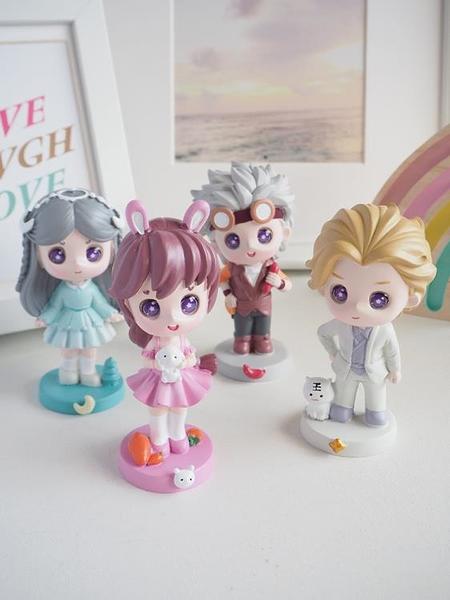 斗羅大陸擺件手辦盲盒小舞娃娃女孩生日禮物女可愛少女心人物模型