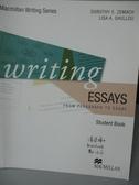 【書寶二手書T2/語言學習_QKZ】Writing Essays_Macmillan