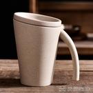 馬克杯 答琪美居陶瓷杯子 花茶杯 馬克杯 咖啡杯帶蓋 復古手工陶瓷水杯【快速出貨】