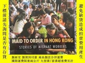 二手書博民逛書店Maid罕見To Order In Hong Kong: sto