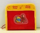 【震撼精品百貨】Curious George _好奇的喬治猴 ~日本喬治猴 拉鍊皮夾/短夾-紅#01840