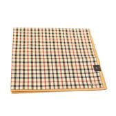 DAKS 純棉經典格紋大帕巾(淺褐色)
