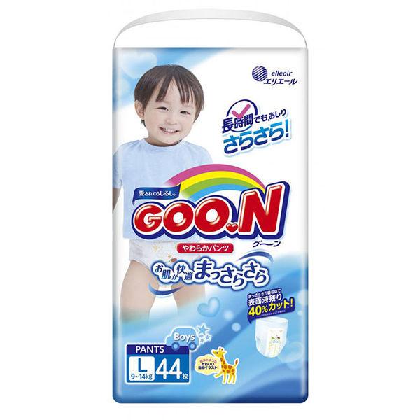 【GOO.N 日本大王】日本境內版(男)-大王褲型L-44*3串/箱-箱購