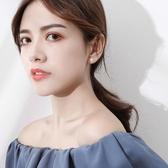 S925純銀雪花耳釘女氣質韓國簡約學生2020新款耳環小巧冷淡風耳飾 小城驛站