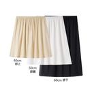 夏季莫代爾內襯裙打底裙半身裙防走光黑色防透紗裙安全裙子短裙女