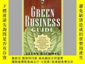 二手書博民逛書店The罕見Green Business Guide 原版6856