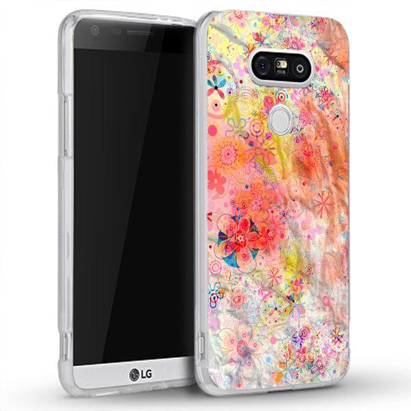♥ 俏魔女美人館 ♥ {浪漫粉彩*水晶硬殼} LG G5 手機殼 手機套 保護套 保護殼
