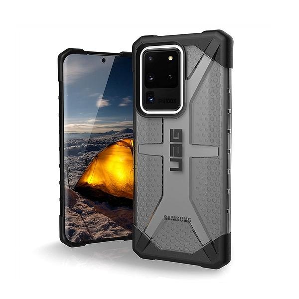 [2美國直購] URBAN ARMOR GEAR 手機保護殼 Plasma系列 適用Galaxy S20 Ultra 灰