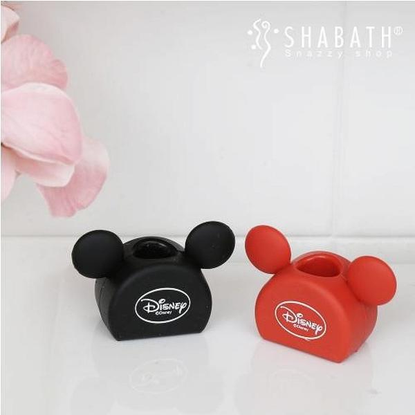 【震撼精品百貨】Micky Mouse_米奇/米妮 ~迪士尼 DISNEY 米奇 MICKEY 2入軟膠牙刷架#09637