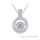 D頂級顏色 GIA 圍繞愛30分鑽石14K金項鍊  King Star海辰國際珠寶 飾品 配件