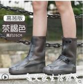 鞋套雨鞋套男女韓國可愛鞋套防水雨天防滑加厚耐磨成人下雨防雨水 艾家生活館