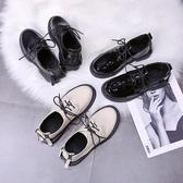 紳士鞋黑色小皮鞋女2020夏季新款軟皮百搭英倫風平底日繫jk學院單鞋秋季 雙11 伊蘿