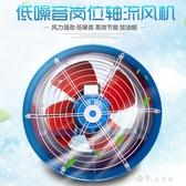 工業風扇崗位式軸流風機220v工業風扇排氣扇管道式排風機排風扇工 【快速出貨】