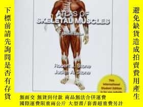 二手書博民逛書店Atlas罕見Of Skeletal MusclesY307751 Judith A Stone Mcgraw